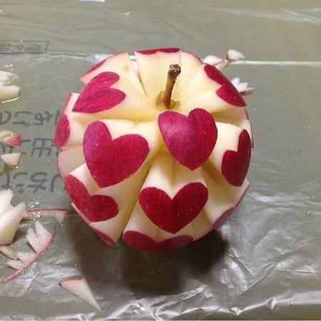 ایده های زیبا از تزیین سیب درختی