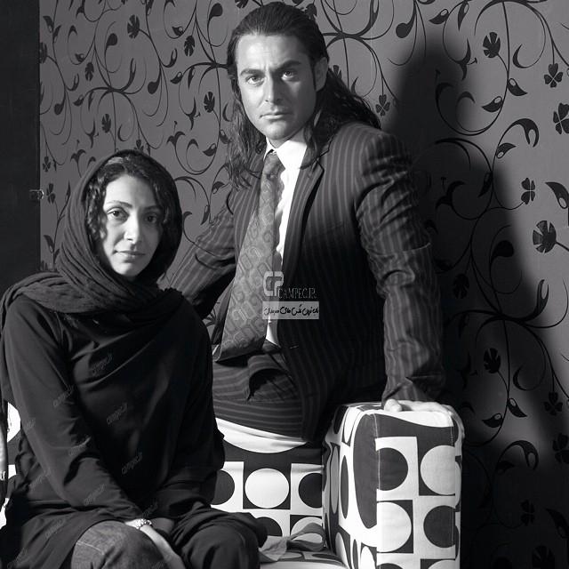 محمد رضا گلزار و نیلوفر خوش خلق