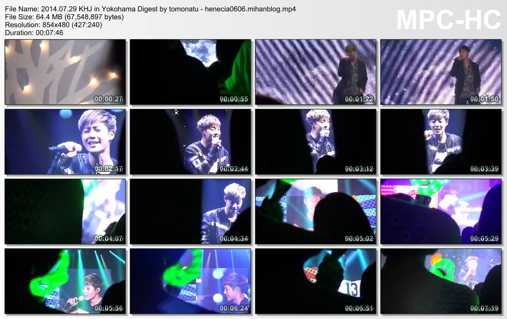 [Fancams] Kim Hyun Joong at 2014 World Tour Concert in Yokohama [14.07.29]