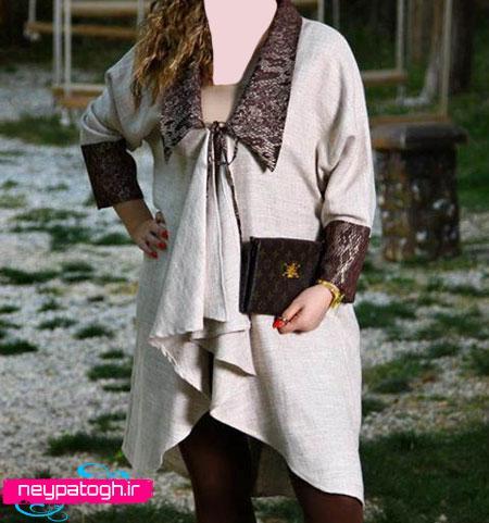 مدل مانتو کوتاه دخترانه جديد neypatogh.ir