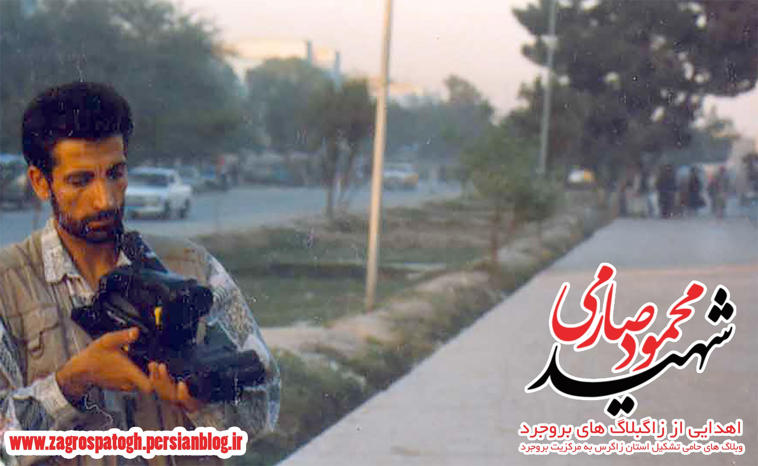 آخرین تصویر از خبرنگار شهید محمود صارمی