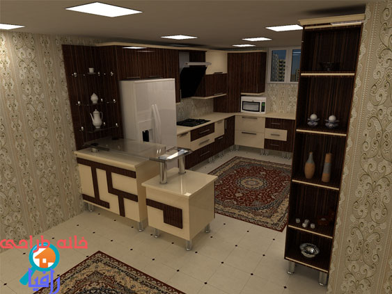 طراحي کابينت هاي اشپزخانه