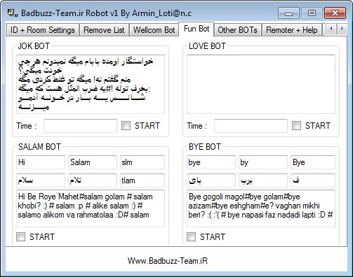 Badbuzz Robot V1 By Armin_loti@n.c Asdasdasda