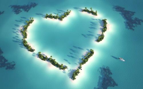 تصاویر عاشقانه و کارت پستال با موضوع قلب جديد سال