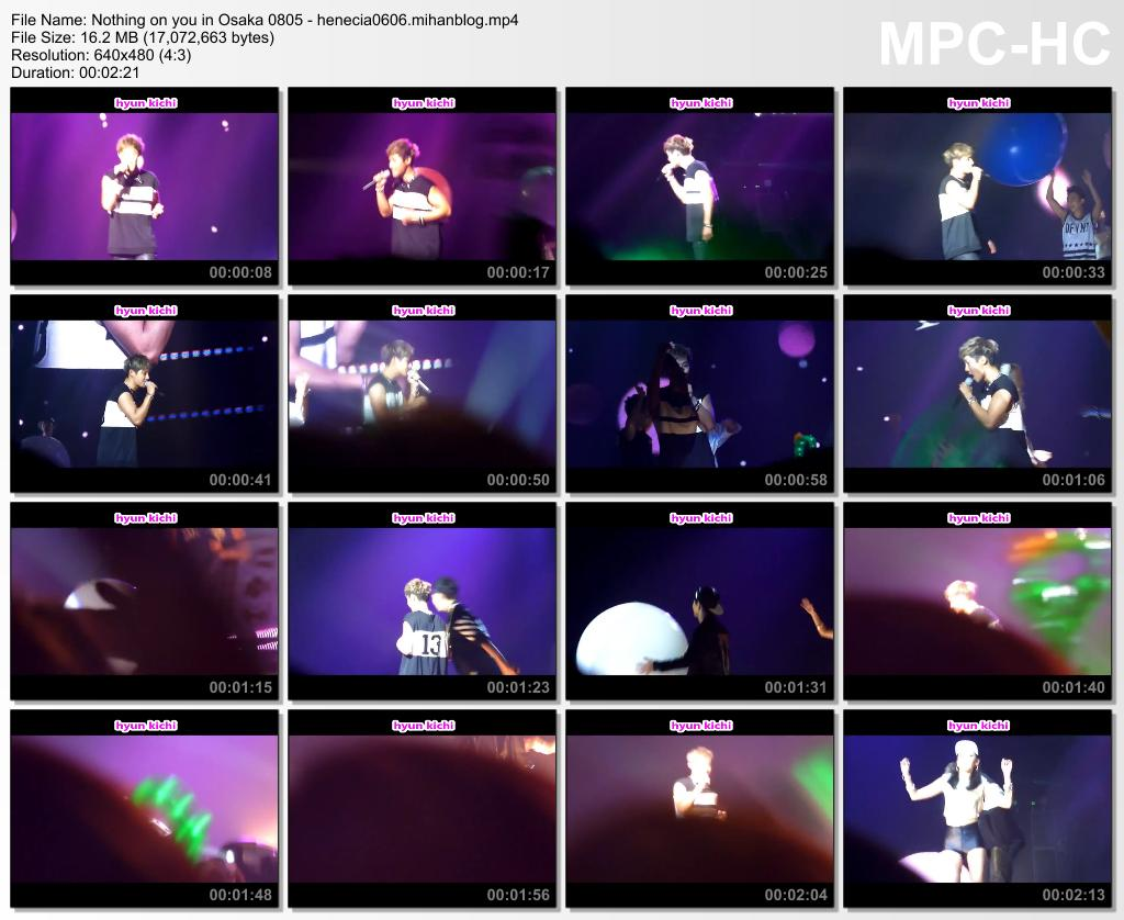 [Fancams] Kim Hyun Joong 2014 World Tour in Osaka [14.08.05]
