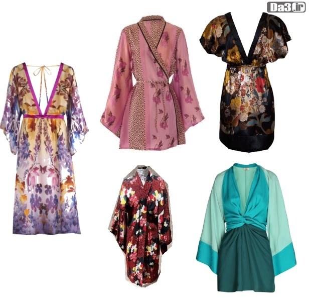 Image result for مدل لباس آستین کیمونو