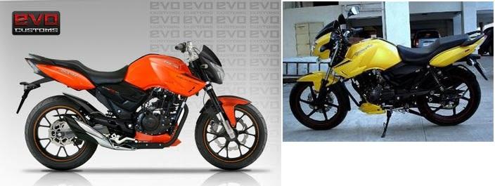قیمت موتور سیکلت آپاچی - 1