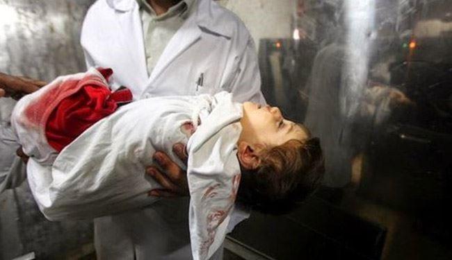 کشتار کودکان در غزه