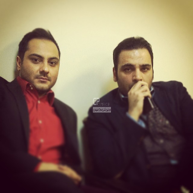 احسان علیخانی و حامد حاجیلو