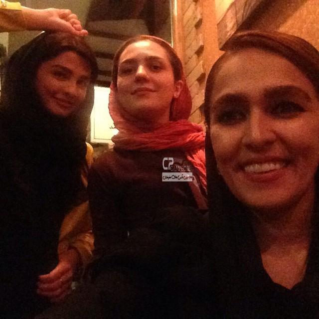 سیما خضرآبادی و مونا احمدی
