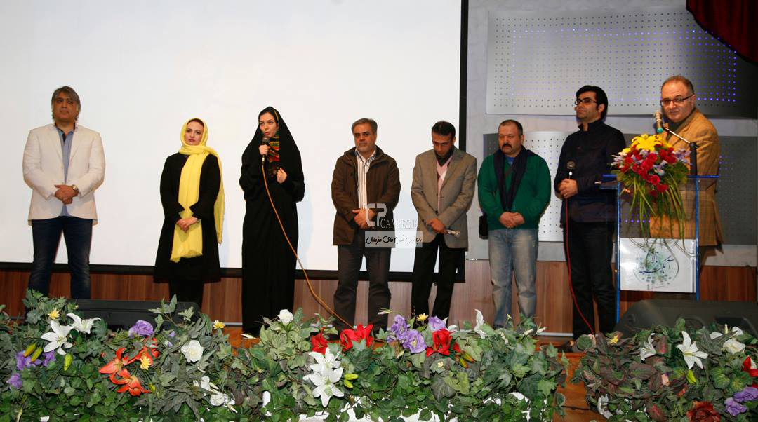 فرزاد حسنی و همسرش آزاده نامداری و گلاره عباسی و علی صالحی