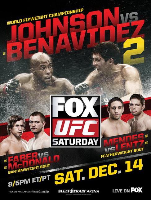 دانــلود یو اف سی در فاکس 9 | UFC on FOX 9 : johnson vs. benavidez