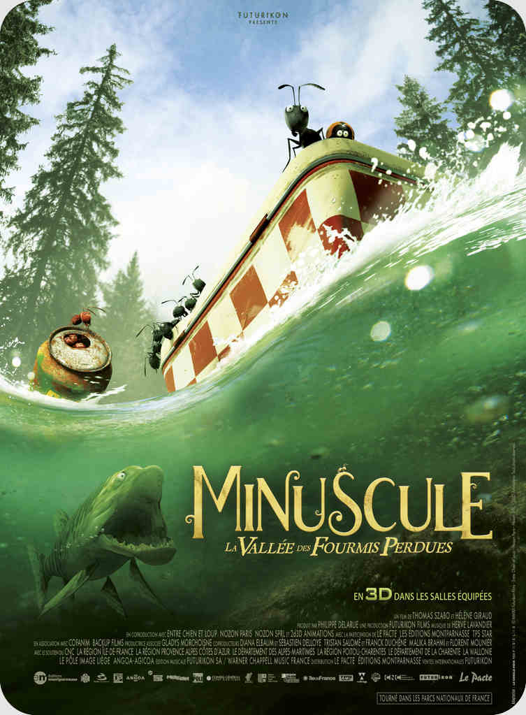 انیمیشن Minuscule Valley of the Lost Ants 2013