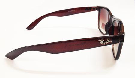 عینک ریبن فریم قهوه ایی ویفری