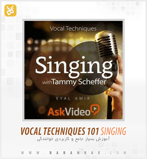 دانلود آموزش خوانندگی Vocal Techniques Singing with Tammy Scheffer
