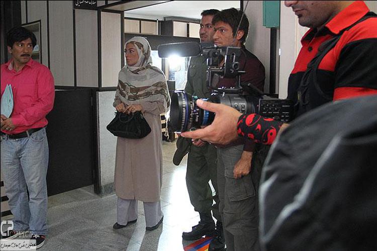 حمید رضا آذرنگ و یکتا ناصر در پشت سریال جاده قدیم