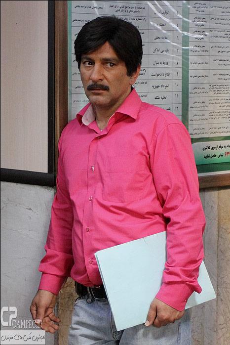 حمید رضا آذرنگ در پشت صحنه سریال جاده قدیم
