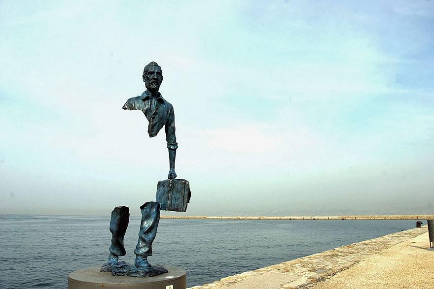 فتوگالری: عجیب ترین و خلاقانه ترین مجسمه ها در سراسر جهان 1