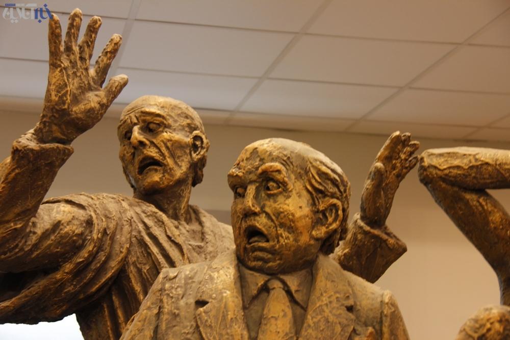 فتوگالری: مجسمههای شگفت انگیز از داوینچی ایرانی