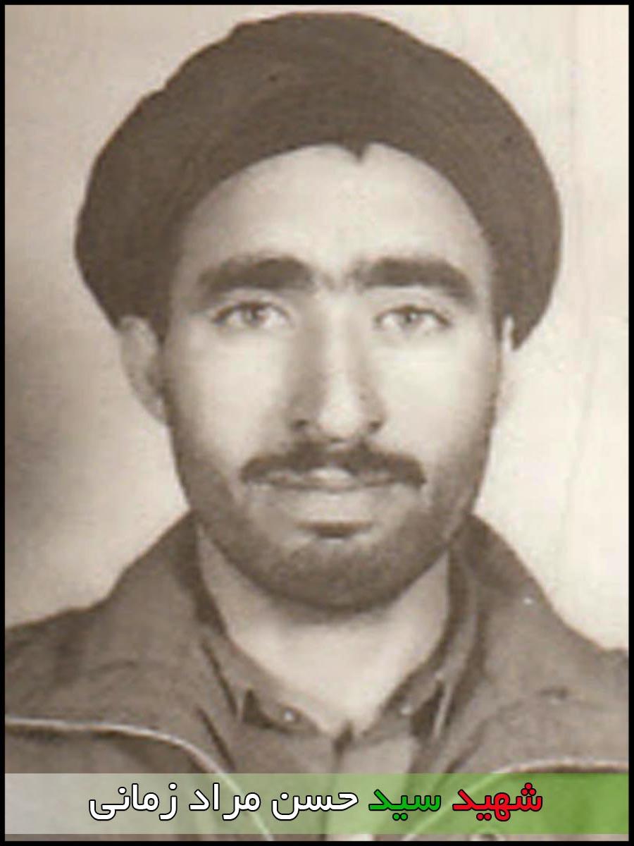 شهید سید حسن مراد زمانی
