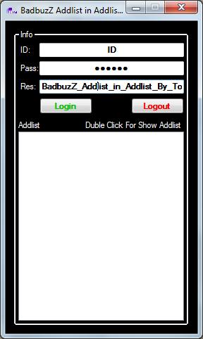 BadbuzZ Addlist in Addlist By ToOfan Adi1