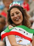 تماشاگران زن ایرانی در جام جهانی 2014