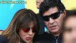 عکسهای مارادونا به همراه همسرش در بازی ایران و آرژانتین