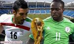 تساوی تیم فوتبال ایران مقابل نیجریه در جام جهانی 2014