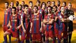 پوسترهای زیبا از بازیکنان بارسلونا