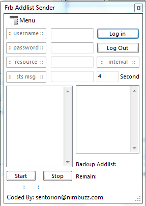 frb addlist sender (after update server) by sentorion Frb_addlist_sender