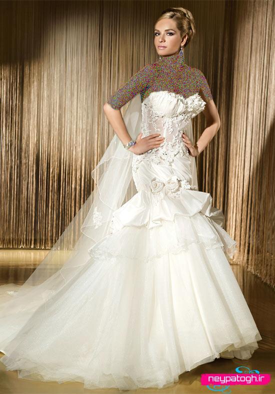مدل لباس عروس شیک neypatogh.ir