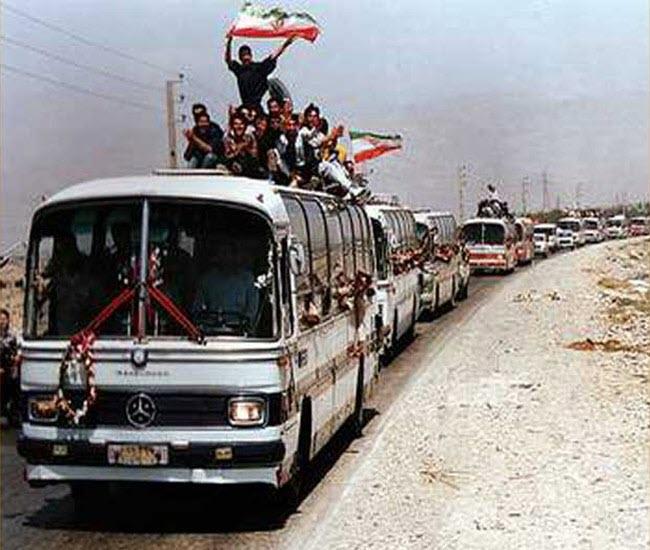 2 26 مرداد 1369 سالروز ورود آزادگان سرافراز به میهن اسلامی گرامی باد ...