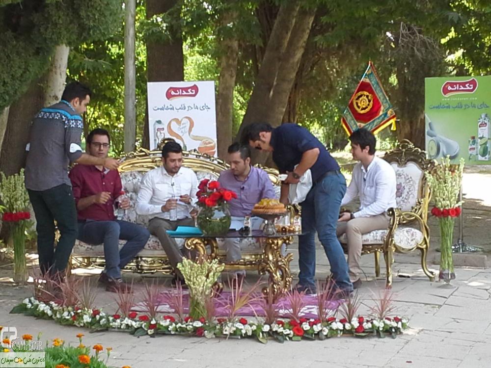 شاهرخ استخری و پندار اکبری در برنامه خشوشا شیراز