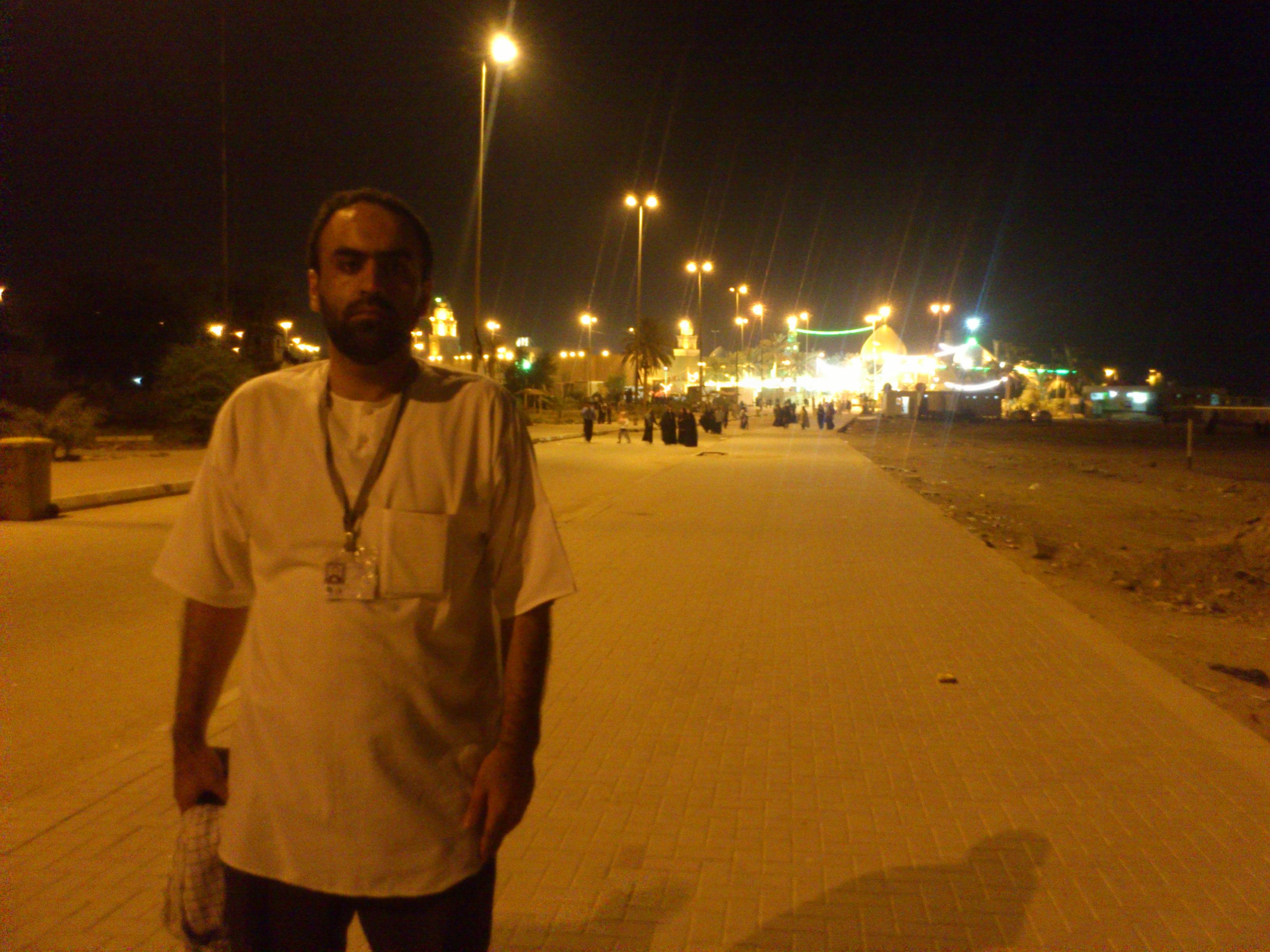 زیارت مسجد کوفه .... رضا شکری