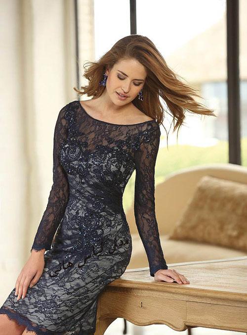 مدل لباس بلند شیک اروپایی