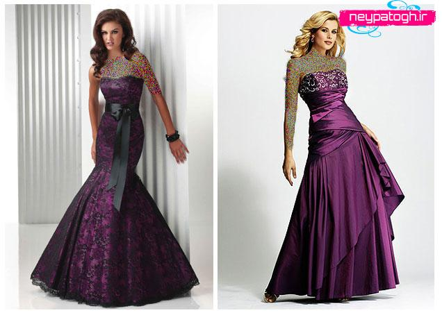 مدل جديد لباس شب,لباس مجلسی,لباس لباس نامزدی neypatogh.ir