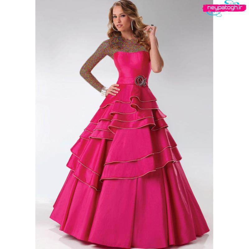 مدل جديد لباس شب,لباس مجلسی,لباس لباس نامزدی,لبای دخترناه مجلسی neypatogh.ir