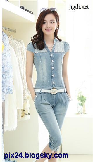 مدل لباس خنک کره ای خوشگل 2014 زنانه
