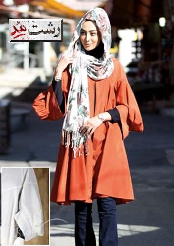 جدیدترین مدلهای مانتو زنانه ایرانی 1393