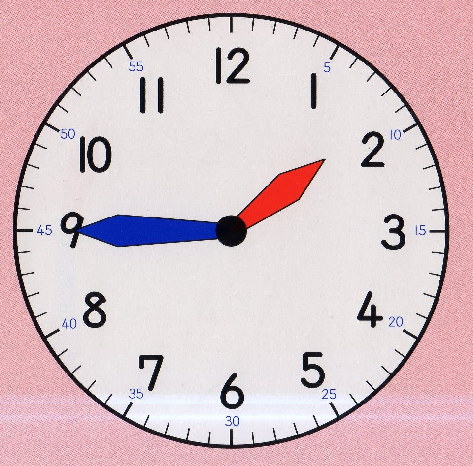 how to say one o clock in spanish