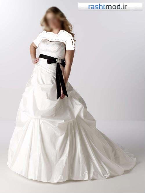 لباس عروس چاق