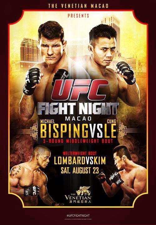 دانلود یو اف سی فایت نایت 48 | UFC Fight Night 48 : Bisping vs. Le