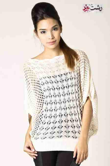 انواع مدل لباس بافتنی فشن دخترانه 2014