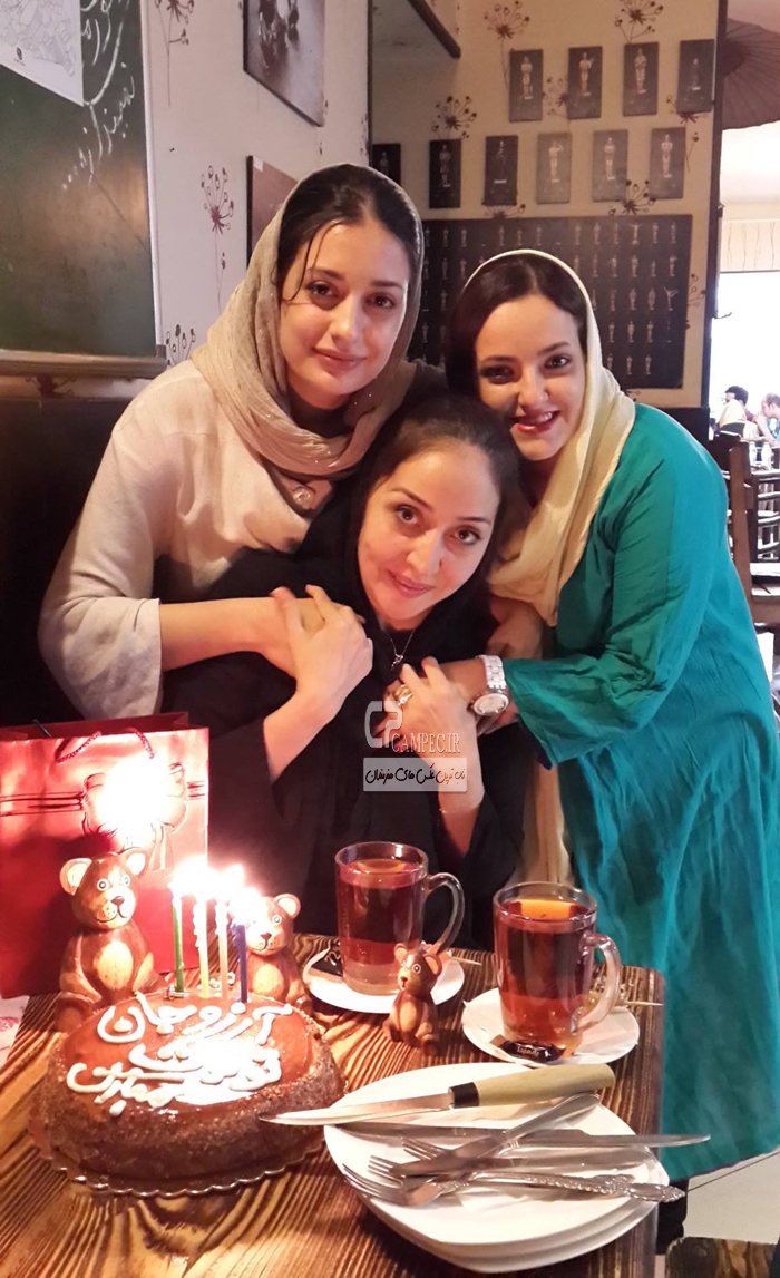 ناهید محمودی و آرزو افشار