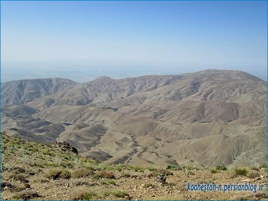 مسیر قله لیچه از واریش