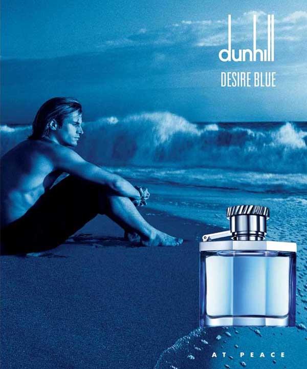 ادکلن مردانه با بوی ماندگار دانهیل آبی Dunhill Desire Blue