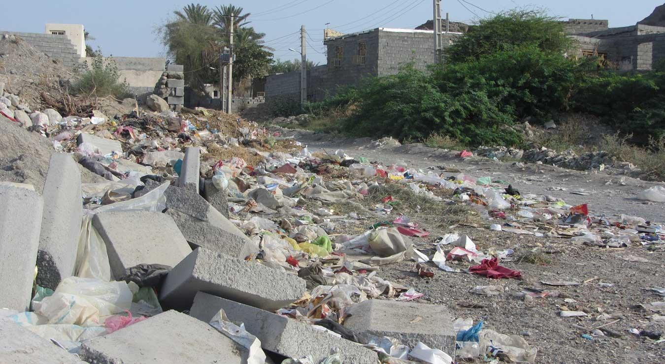 وضعیت نامناسب محله ی خیرآباد میناب