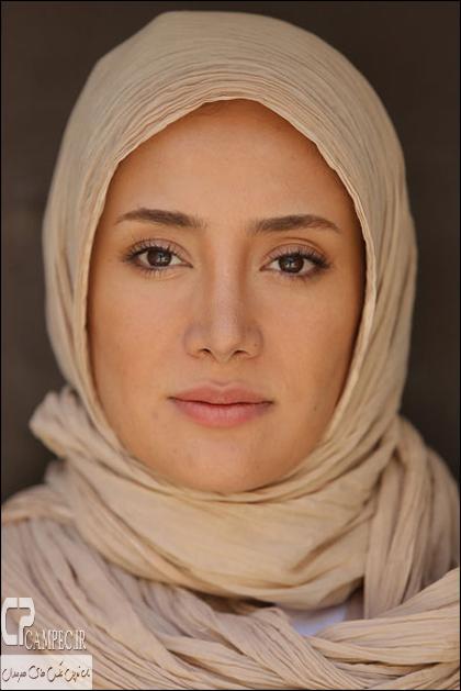 بهاره افشاری بازیگر نقش نسترن در سریال آخرین بازی