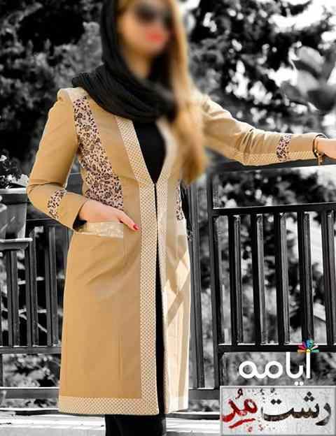 جدیدترین مدل مانتو مجلسی زنانه ایرانی 2014