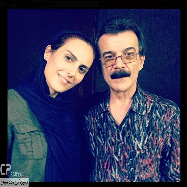 افتخار سعیدی مجری شبکه آی فیلم